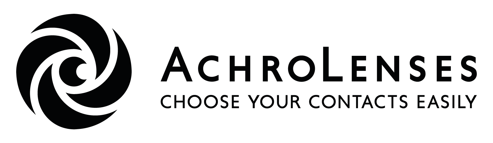 AchroLenses logo black