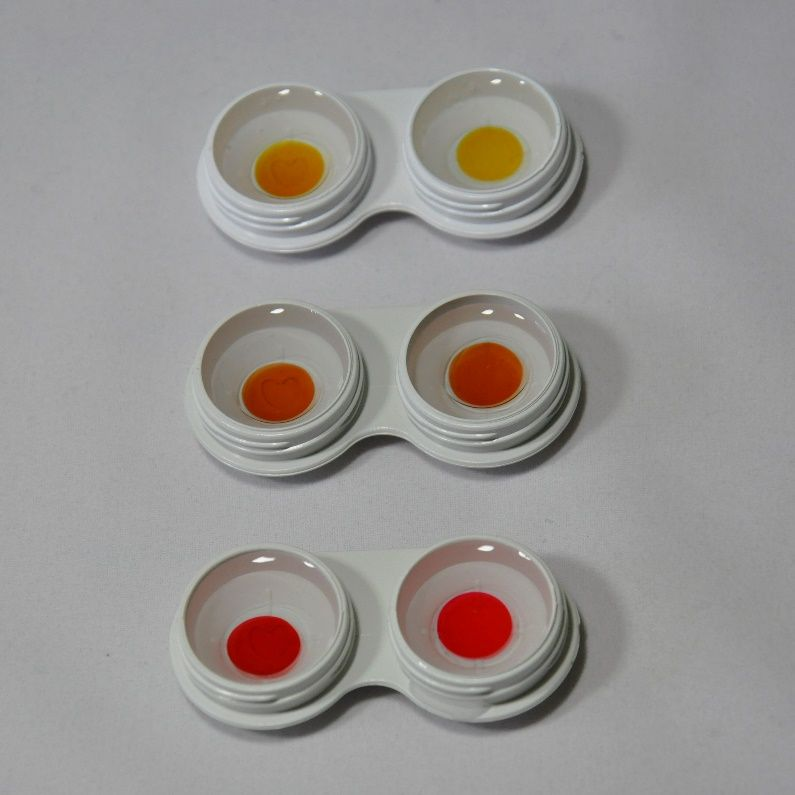 Tint selection - Contact lenses